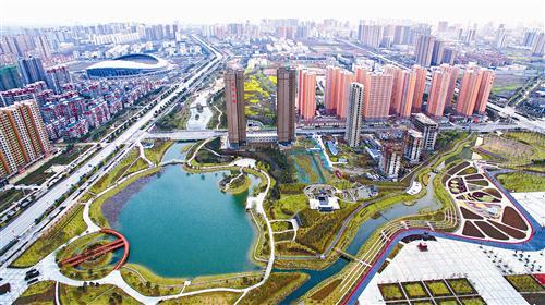 百城建设提质工程绘制天中新蓝图